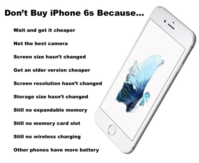 dont buy iphone 6s