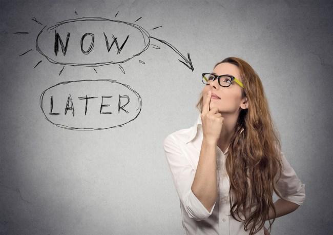 Budget Ideas and Procrastination