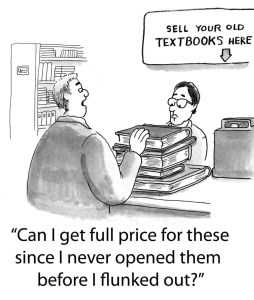 best time to sell used textbooks ask bookstore