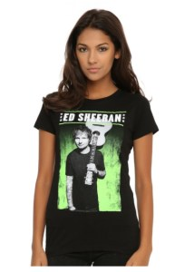 Ed Sheeran Net Worth Merchandise