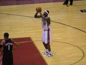 LeBron James highest paid NBA