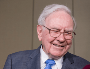 Warren Buffett third richest person in the world