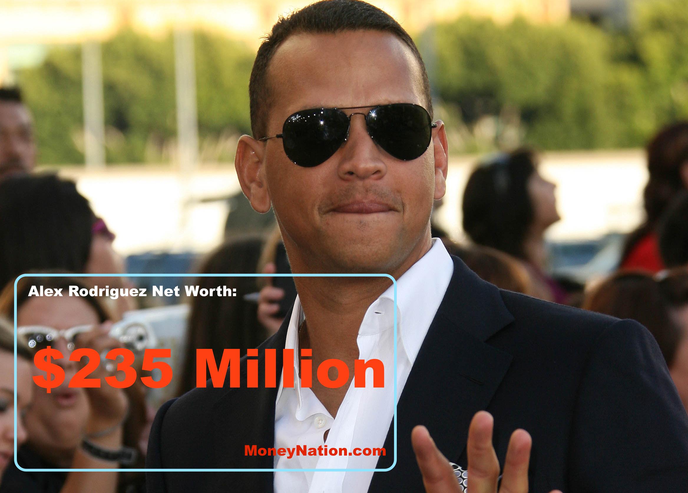 Celebrity net worth alex rodriguez