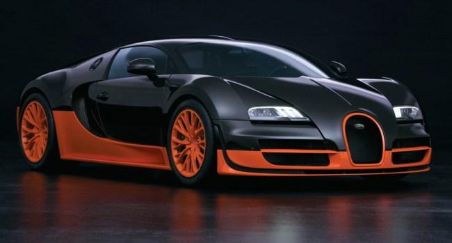 most expensive car bugatti veyron