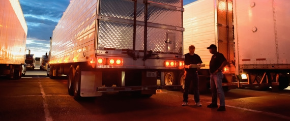 save money by becoming a trucker and living out of your truck