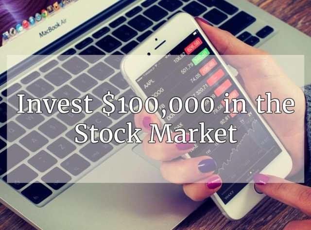 Best investment options for 100k