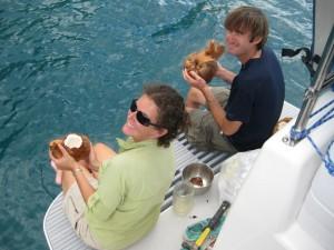 Tiffany and Greg Sailing