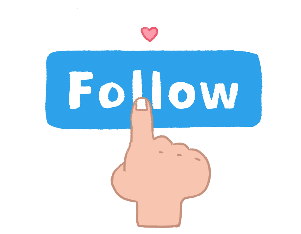 Get followers on twitter