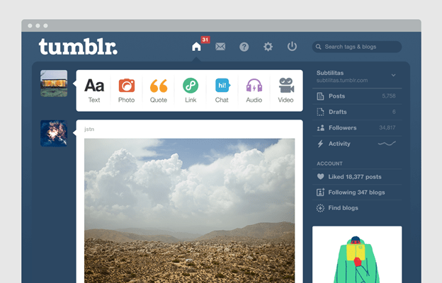 How To Start With Tumblr