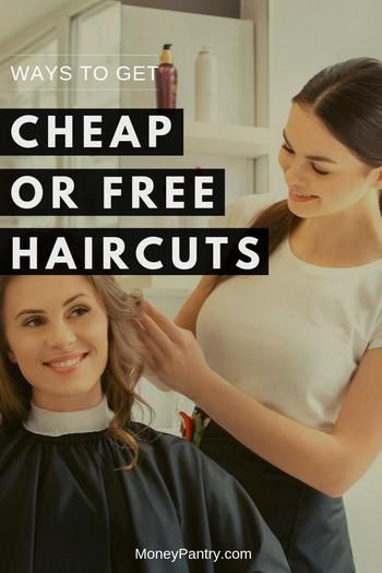 Women's Haircut Places Near Me : women's, haircut, places, Cheap, Haircuts, MoneyPantry