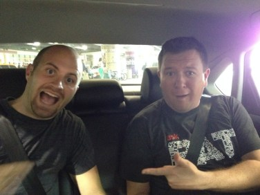 Grant Baldwin and Jared Easley at MSY