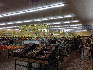 inside woodman's food market