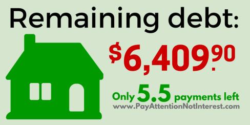 5-5 payments left-
