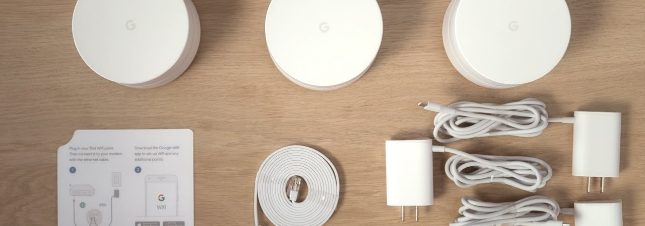 Google WiFi system 3pack
