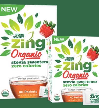 Free Born Sweet Zing Stevia Sweetener Sample