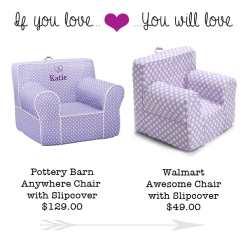 Walmart Kids Chairs Table And If You Love Pottery Barn S Chair Will