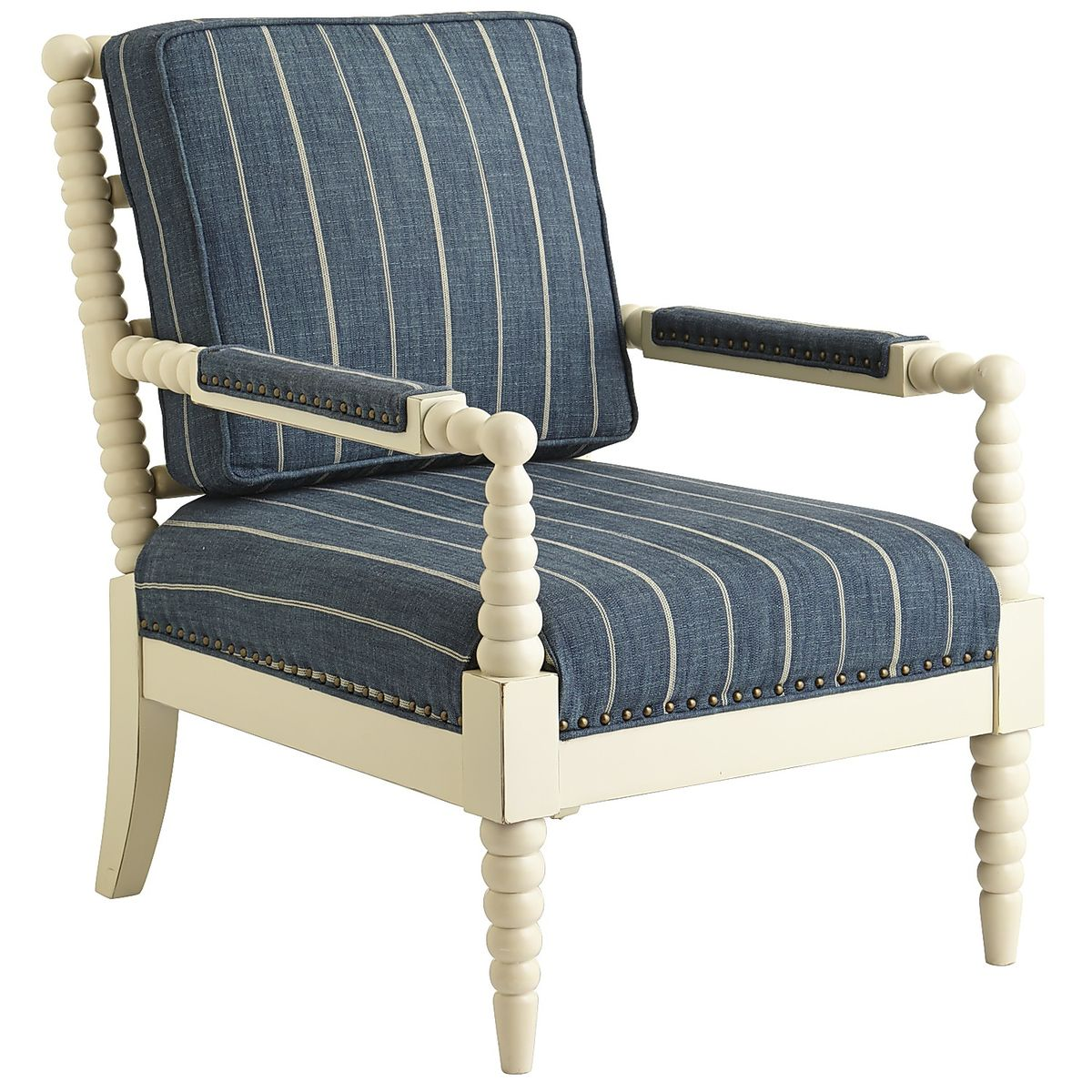 spool chair for sale countertop tables and chairs horchow living room get the look less with