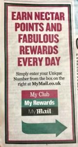 Daily Mail My Club Rewards MyMail
