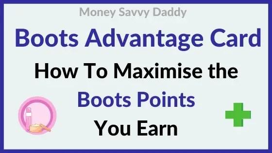 Boots Advantage Card Points