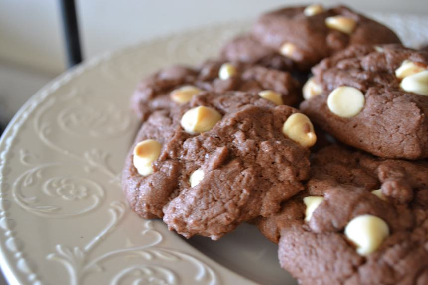 Double Chocolate Chip Cookies | Money Savvy Living