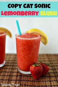 Strawberry Lemon Berry Slush HERO