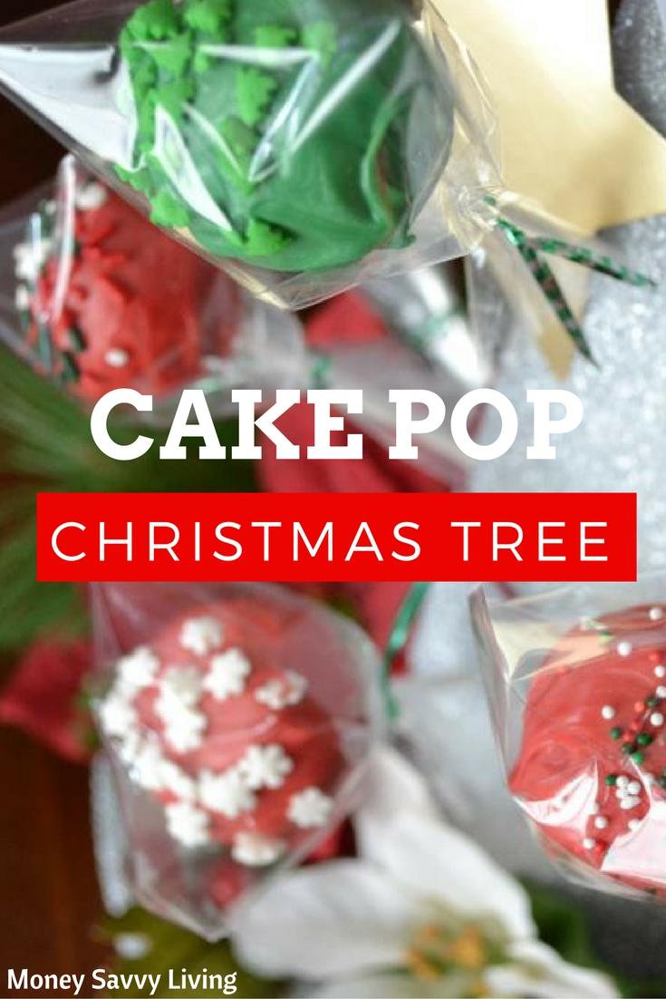 Cake Pop Christmas Tree   Money Savvy Living