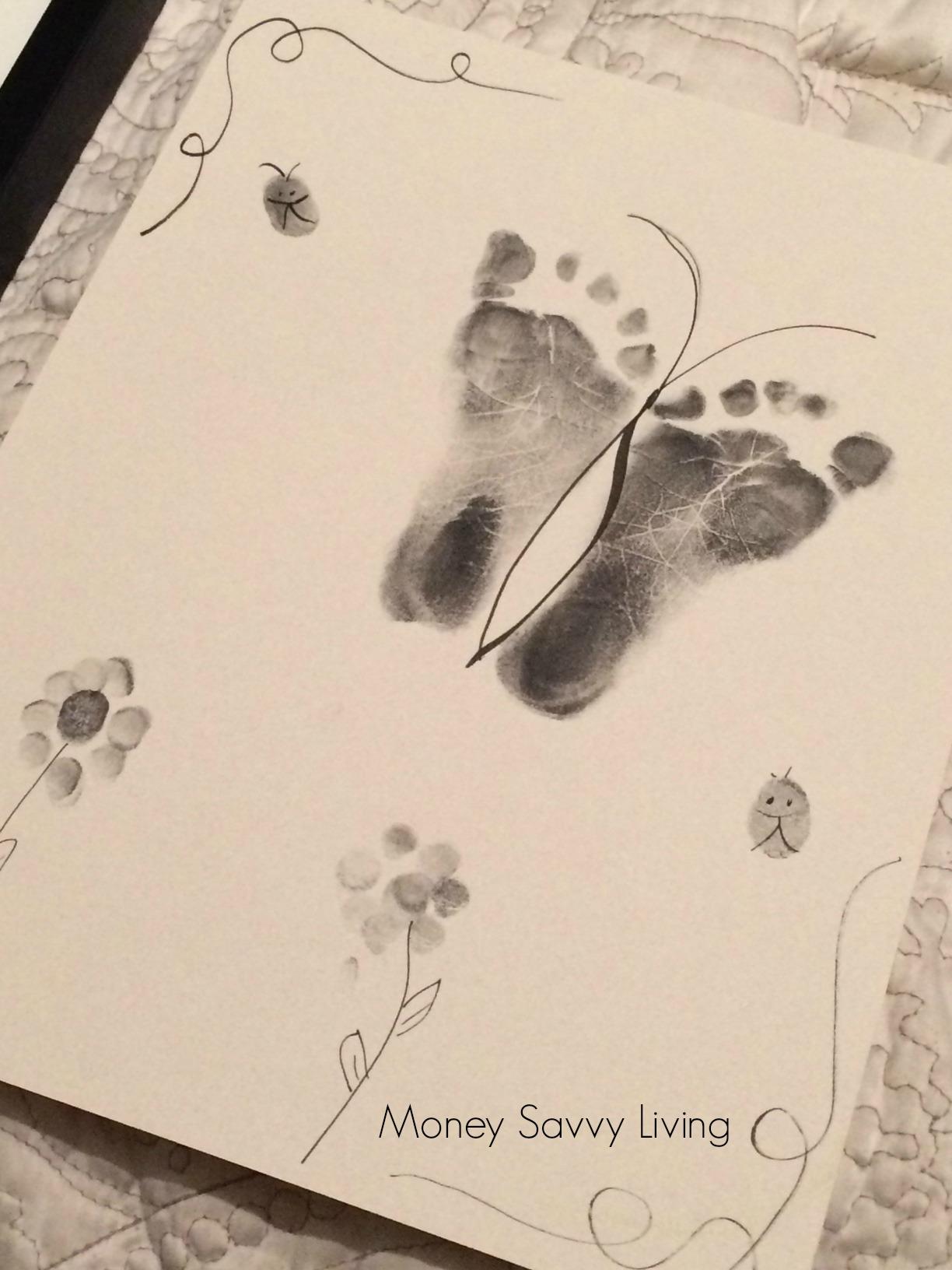 Footprint Keepsake | Money Savvy Living