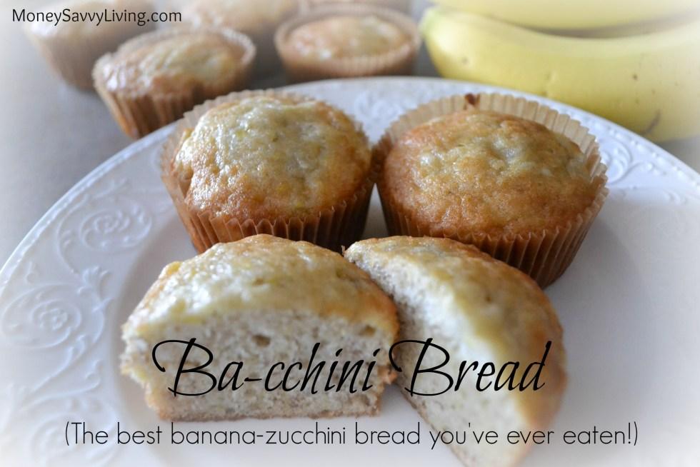 The Best Banana Zucchini Bread You've Ever Tasted // Money Savvy Living #banana #zucchini #bread #breadrecipe #zucchinibread #bananabread