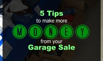 5 Tips to Make More Money from Your Garage Sale. And you'll get some spring cleaning done in the process! #yardsale #garagesale #summer #money #springcleaning #springcleaningtips #makemoney #decluttering #declutter #declutteringtips #declutteryourhome #tidyingup #konmarimethod