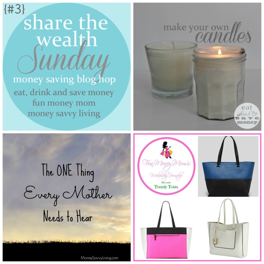 Share the Wealth Sunday {3} | Money Savvy Living
