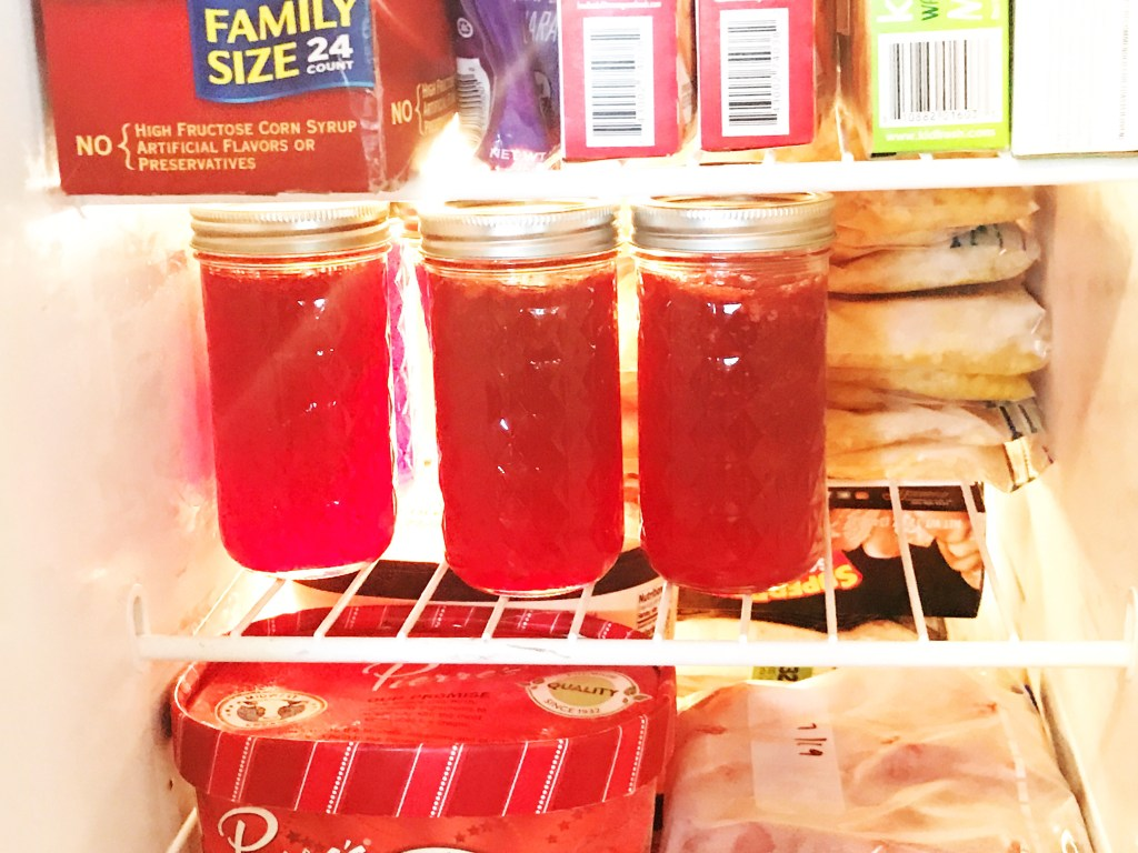 Homemade Strawberry Jam #jam #strawberry #homemade #strawberryrecipe #strawberryjam #freezerjam