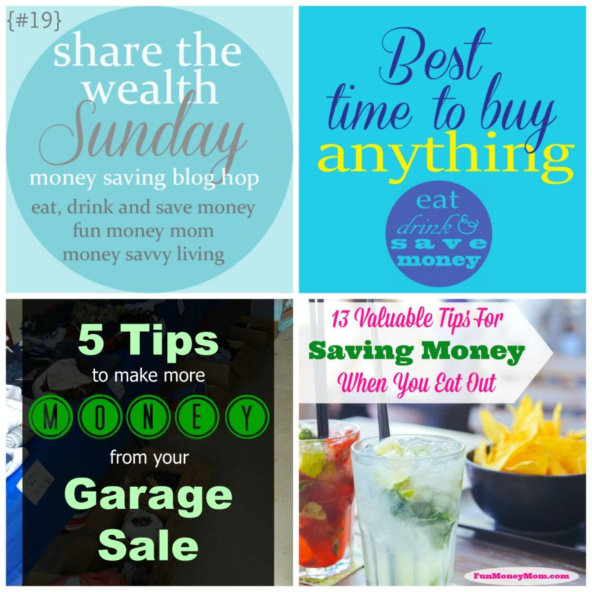 Share the Wealth Sunday 19 | Money Savvy Living