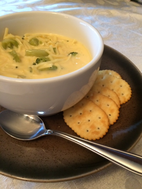 Broccoli Cheese Noodle Soup: Quick, Easy, & Delicious