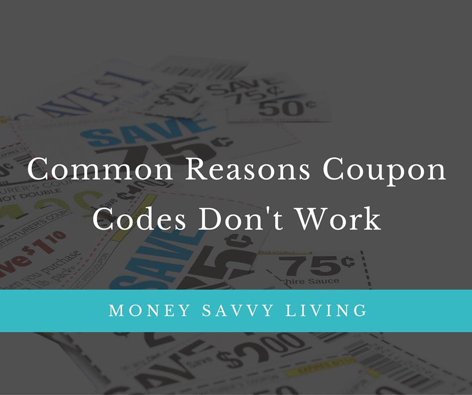 Common Reasons Promo Codes Don't Work