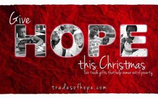 2015 Holiday Gift Guide | Trades Of Hope | Money Savvy Living