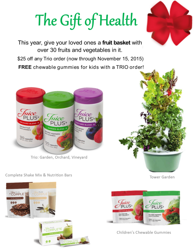 Juice Plus+ holiday gift guide   Money Savvy Living
