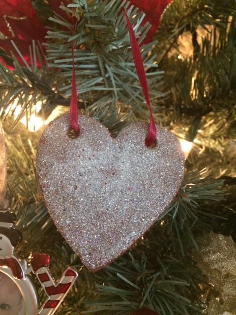 Cinnamon Glitter Ornament