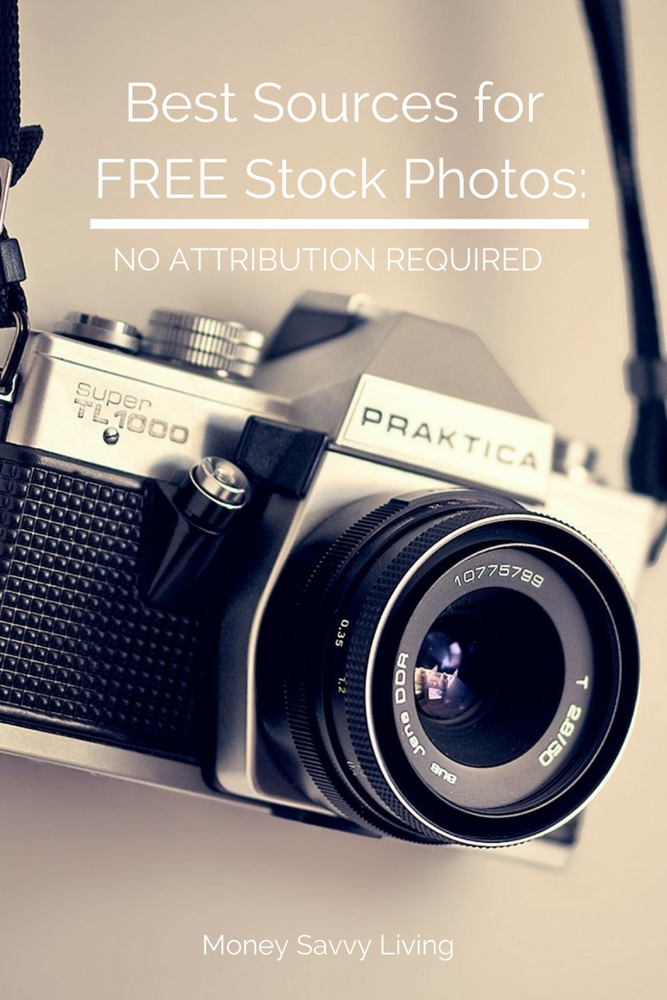 Best Sources for FREE Stock Photos: No Attribution Required // Money Savvy Living