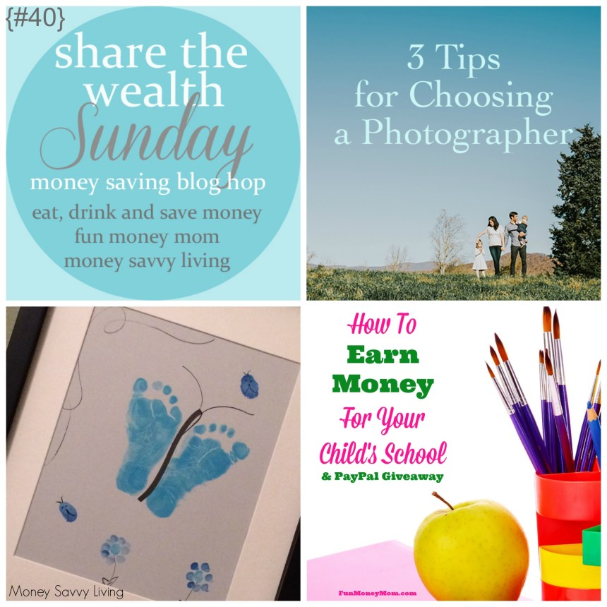 Share The Wealth Sunday 40 | Money Savvy Living