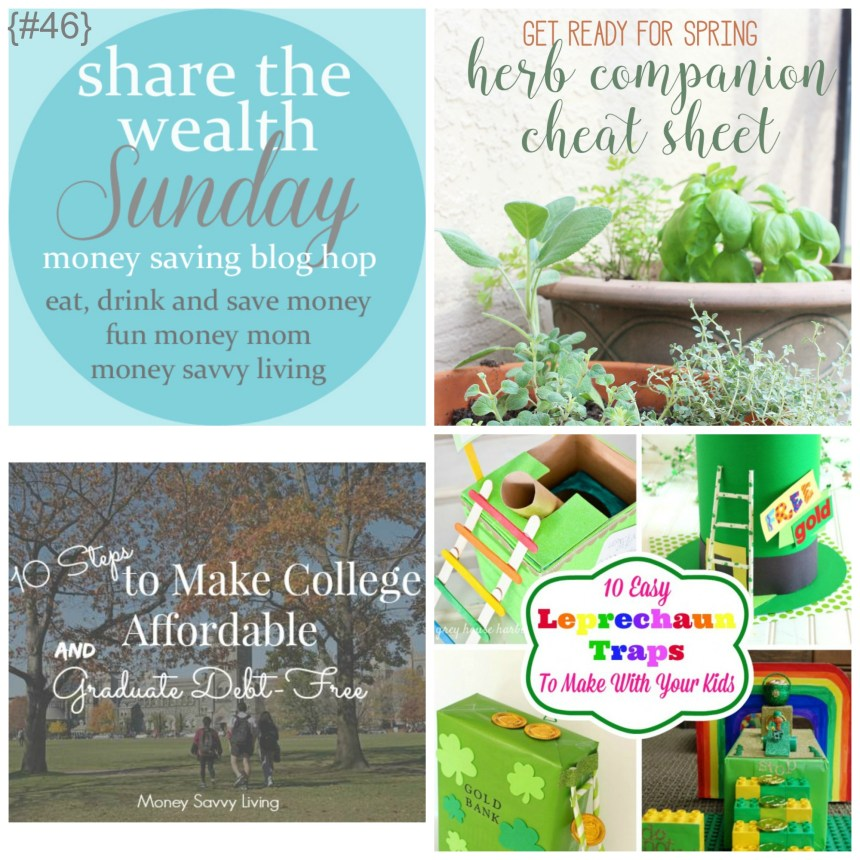 Share The Wealth Sunday 46 |Money Savvy Living
