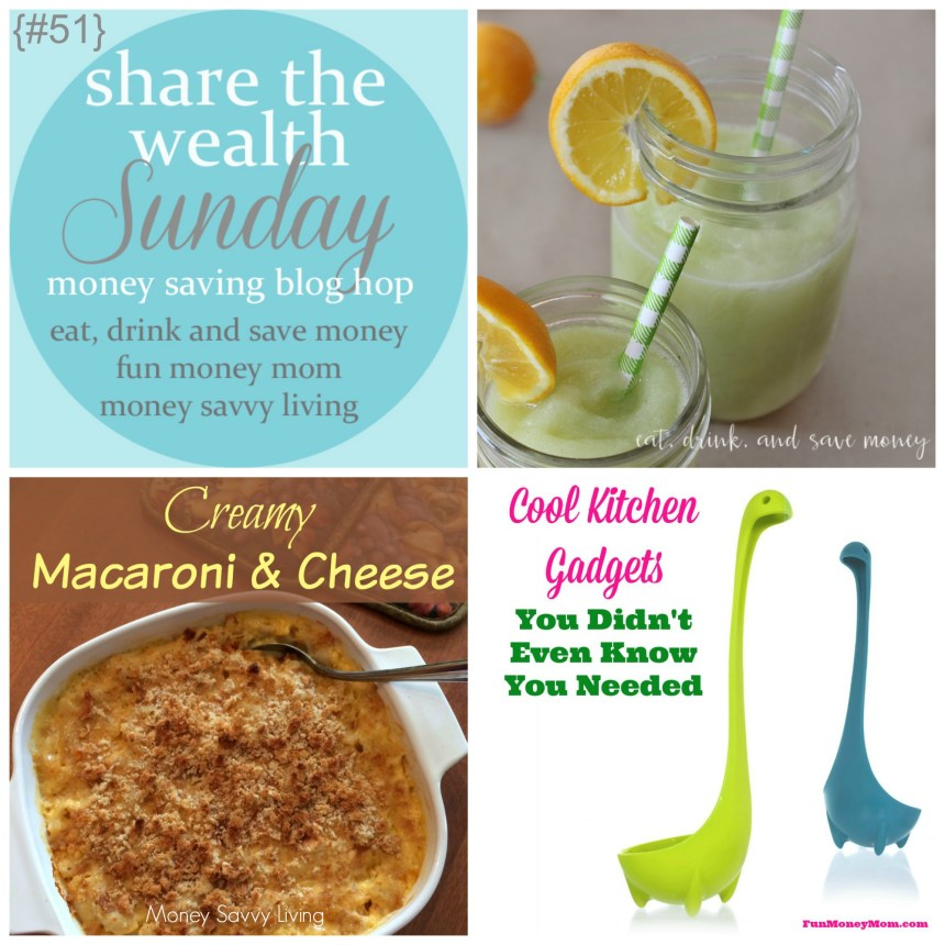 Share The Wealth Sunday 51 | Money Savvy Living