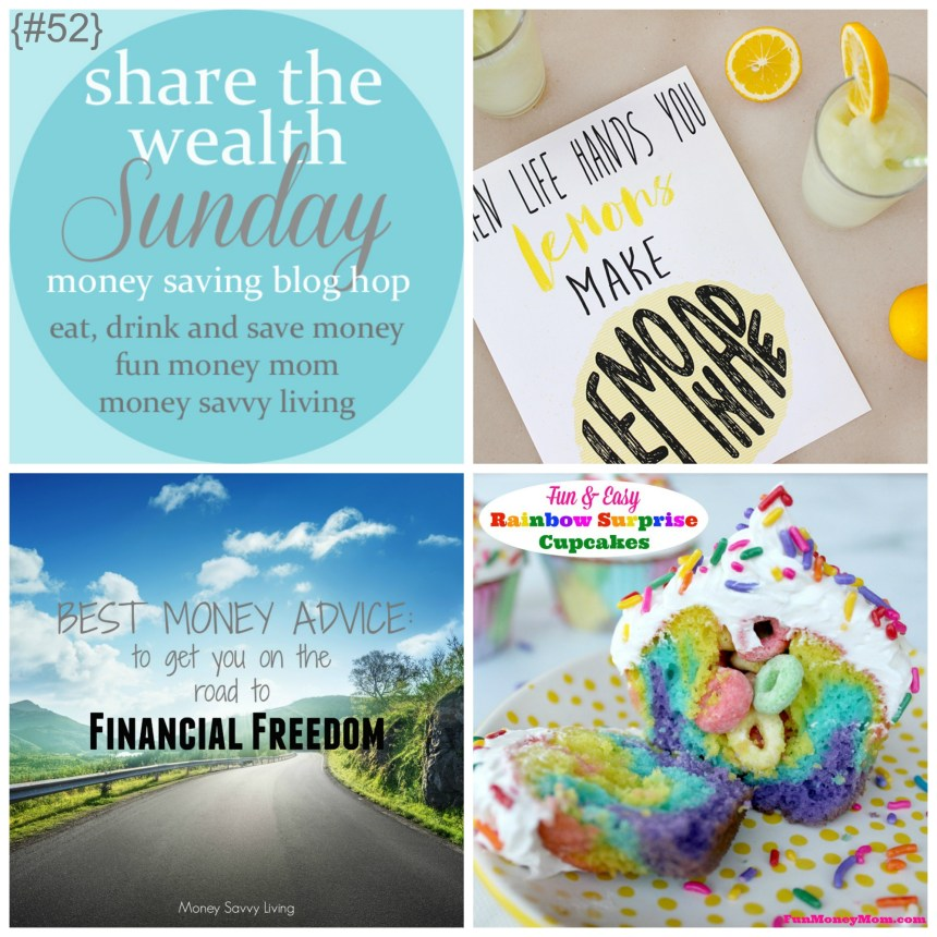 Share The Wealth Sunday 52 | Money Savvy Living