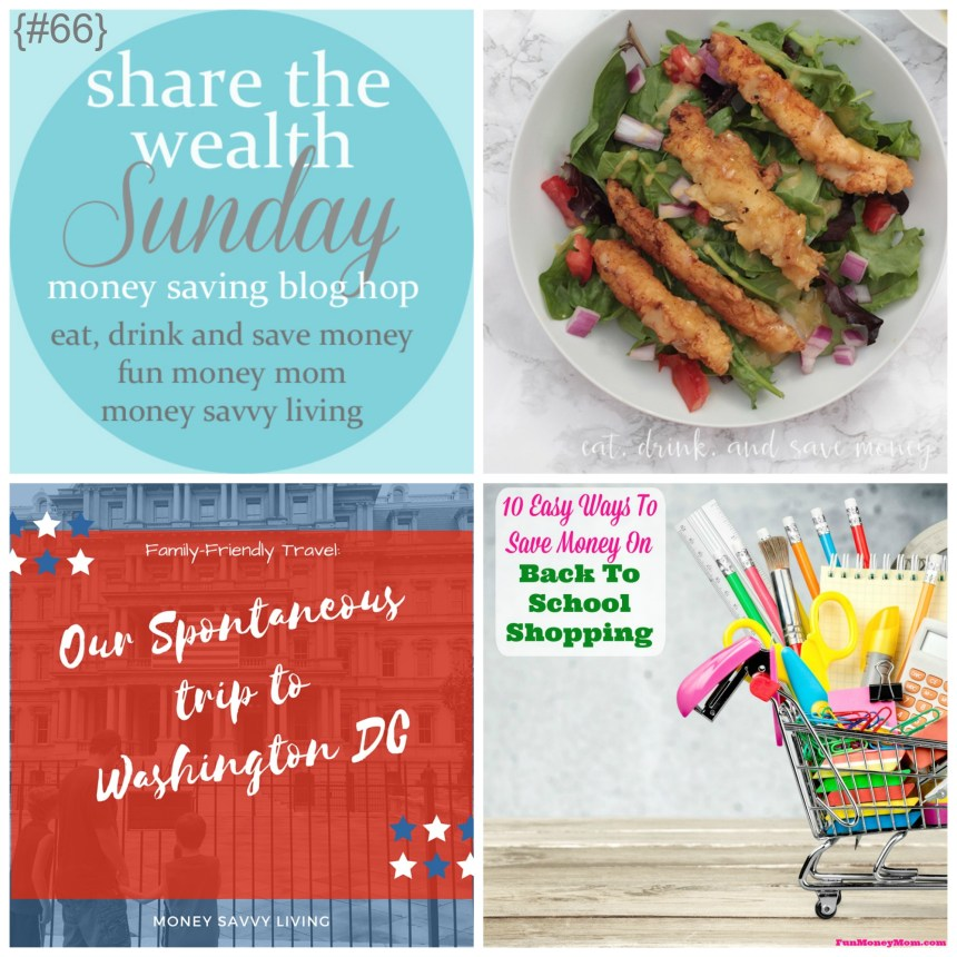 Share The Wealth Sunday 66 | Money Savvy Living