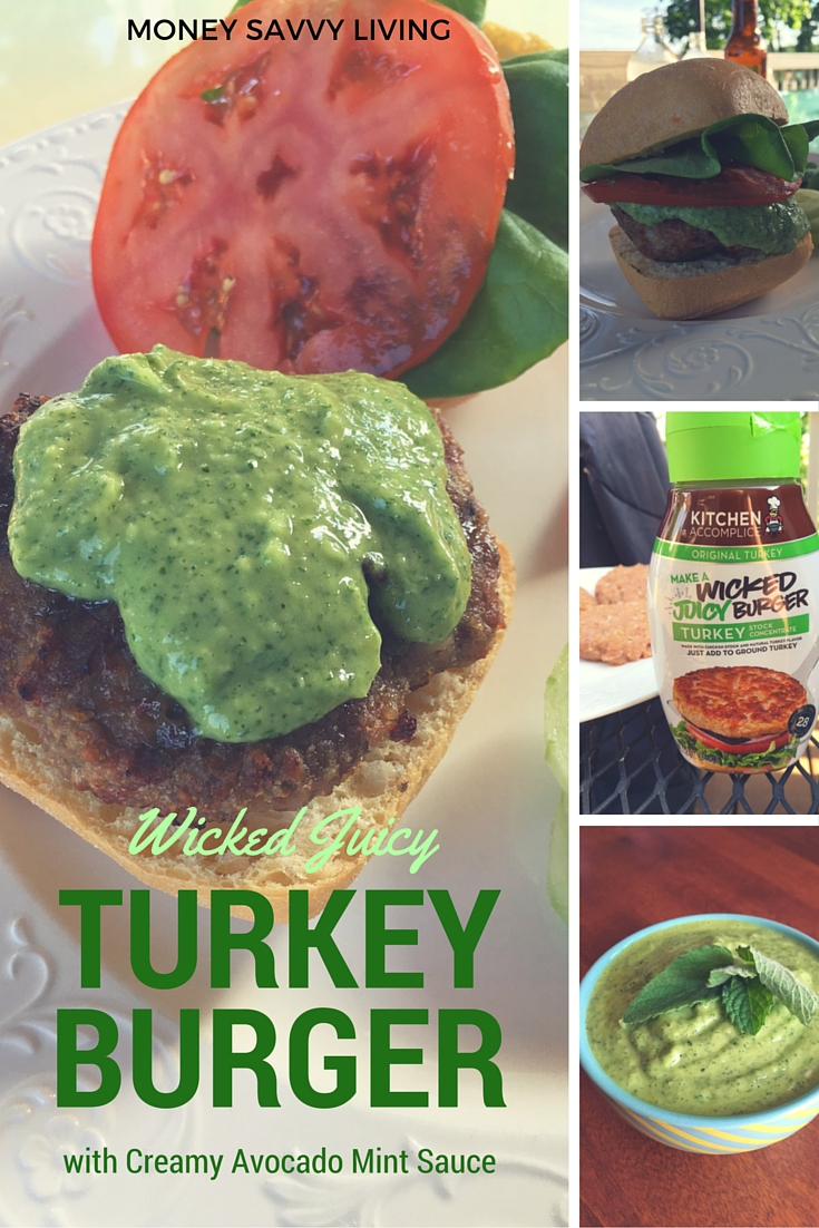 Wicked Juicy Turkey Burger | Money Savvy Living