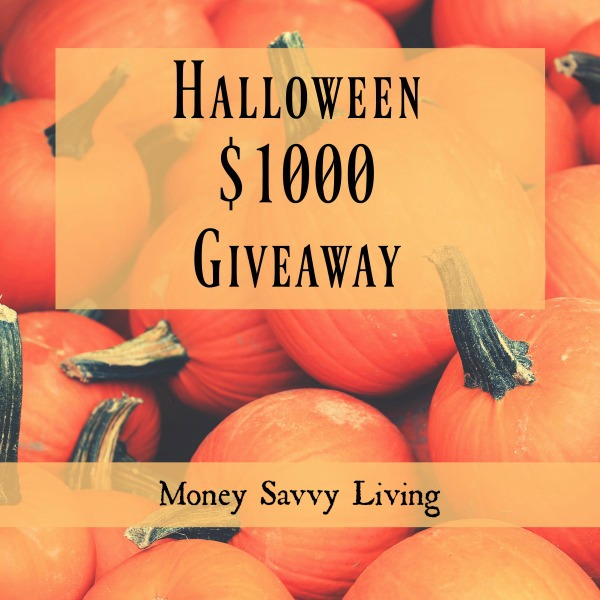 Fall $1000 Cash Giveaway | Money Savvy Living