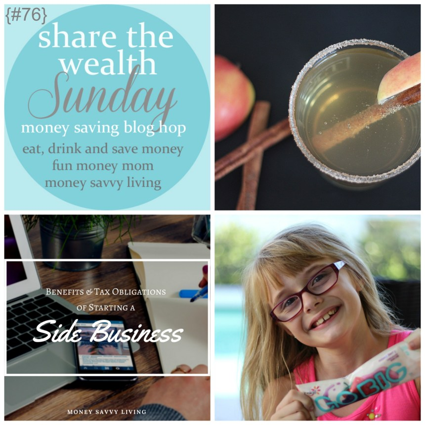 Share The Wealth Sunday 76 | Money Savvy Liivng