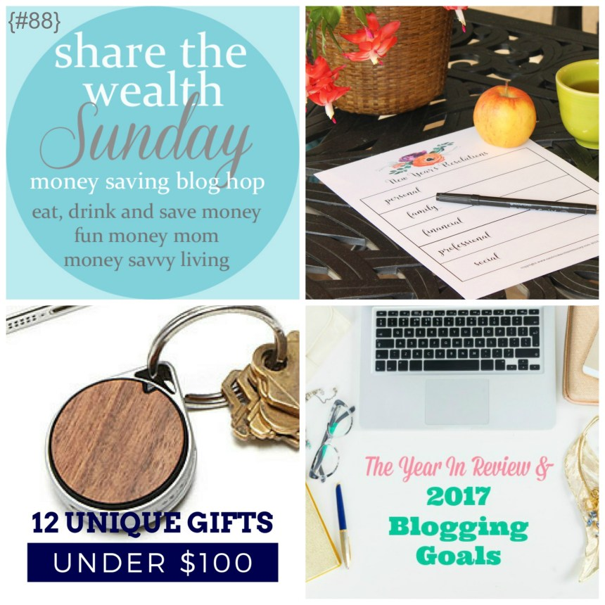 Share The Wealth Sunday Link Up 88 | Money Savvy Living