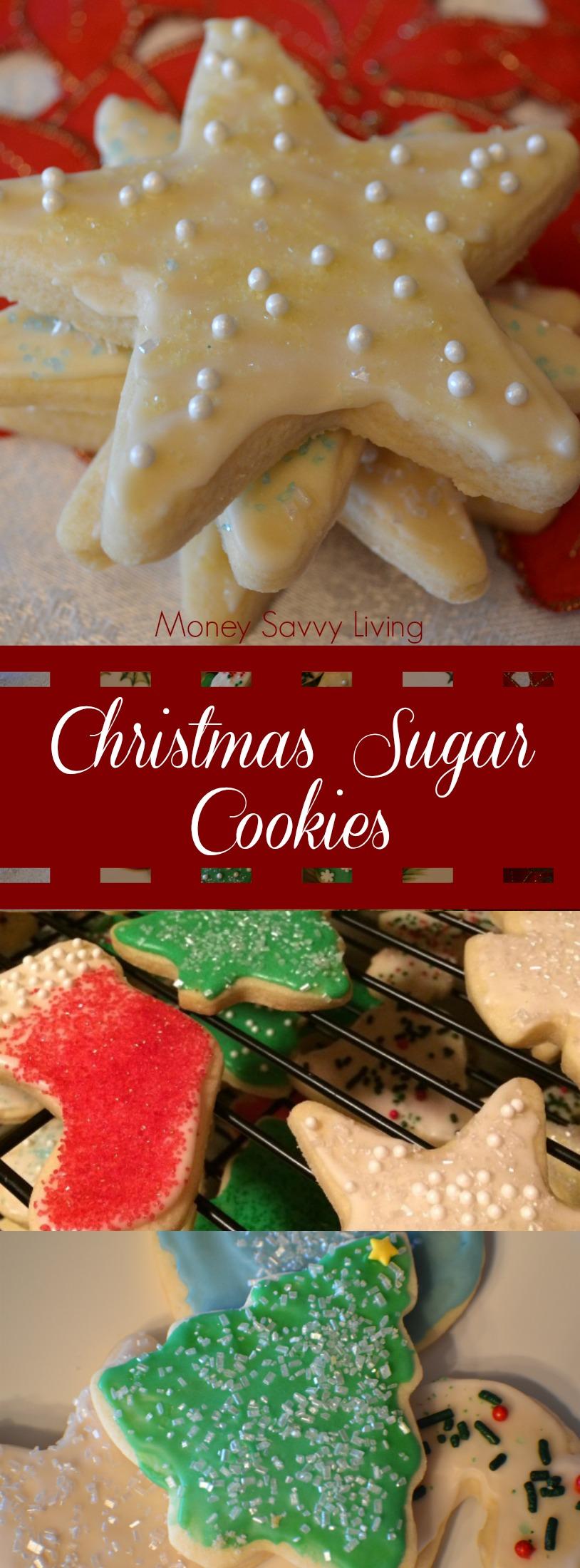 Best Ever Christmas Sugar Cookies | Money Savvy Living