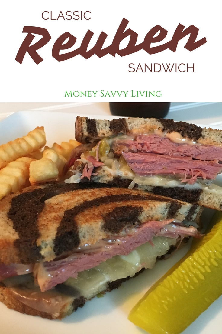 Classic Reuben Sandwich // Money Savvy Living