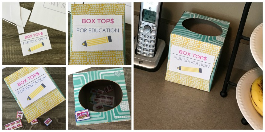 Tissue Box Storage Container + FREE Printable // Money Savvy Living